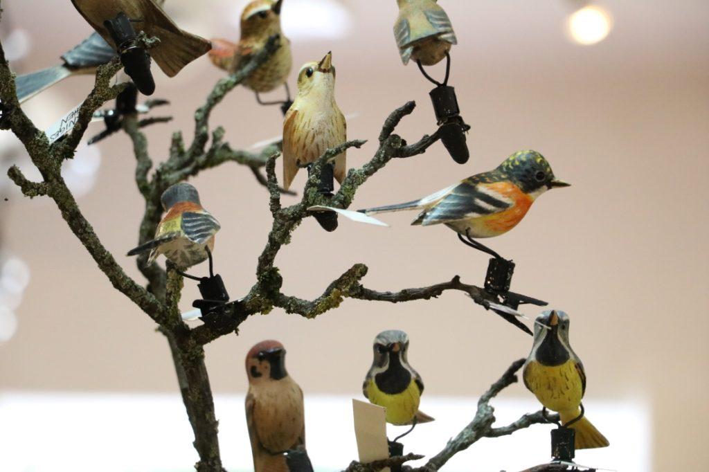 Geschnitzte Singvögel, Viechtauer Vogerl