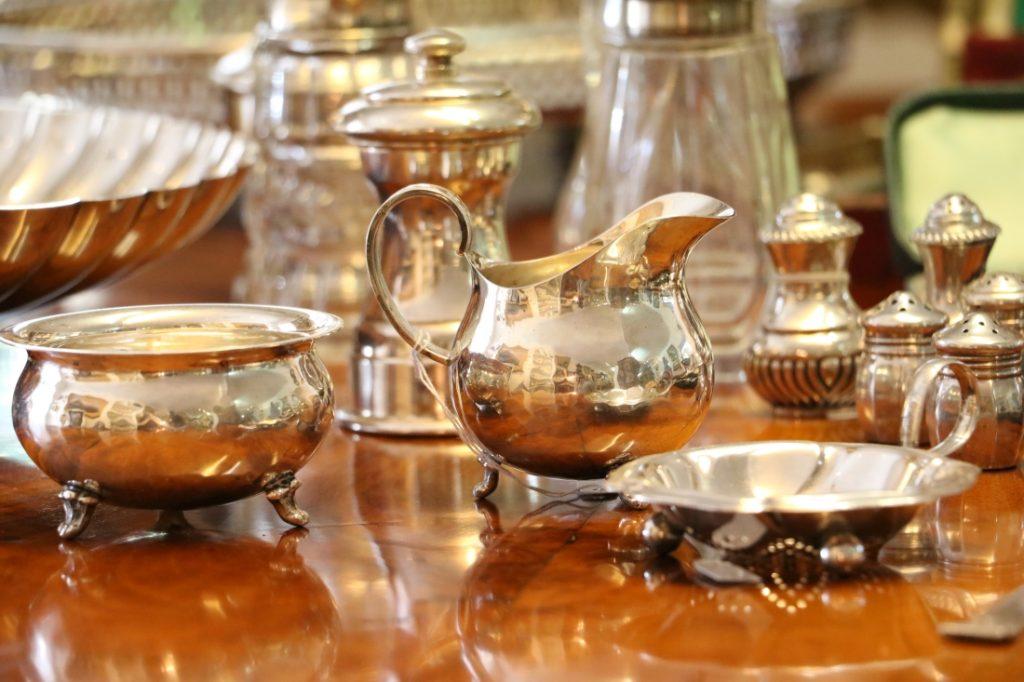 Silber und versilbertes aus Österreich und England